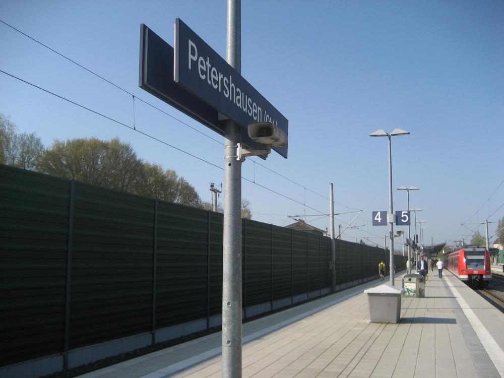 Bahnhof Petershausen Mvv