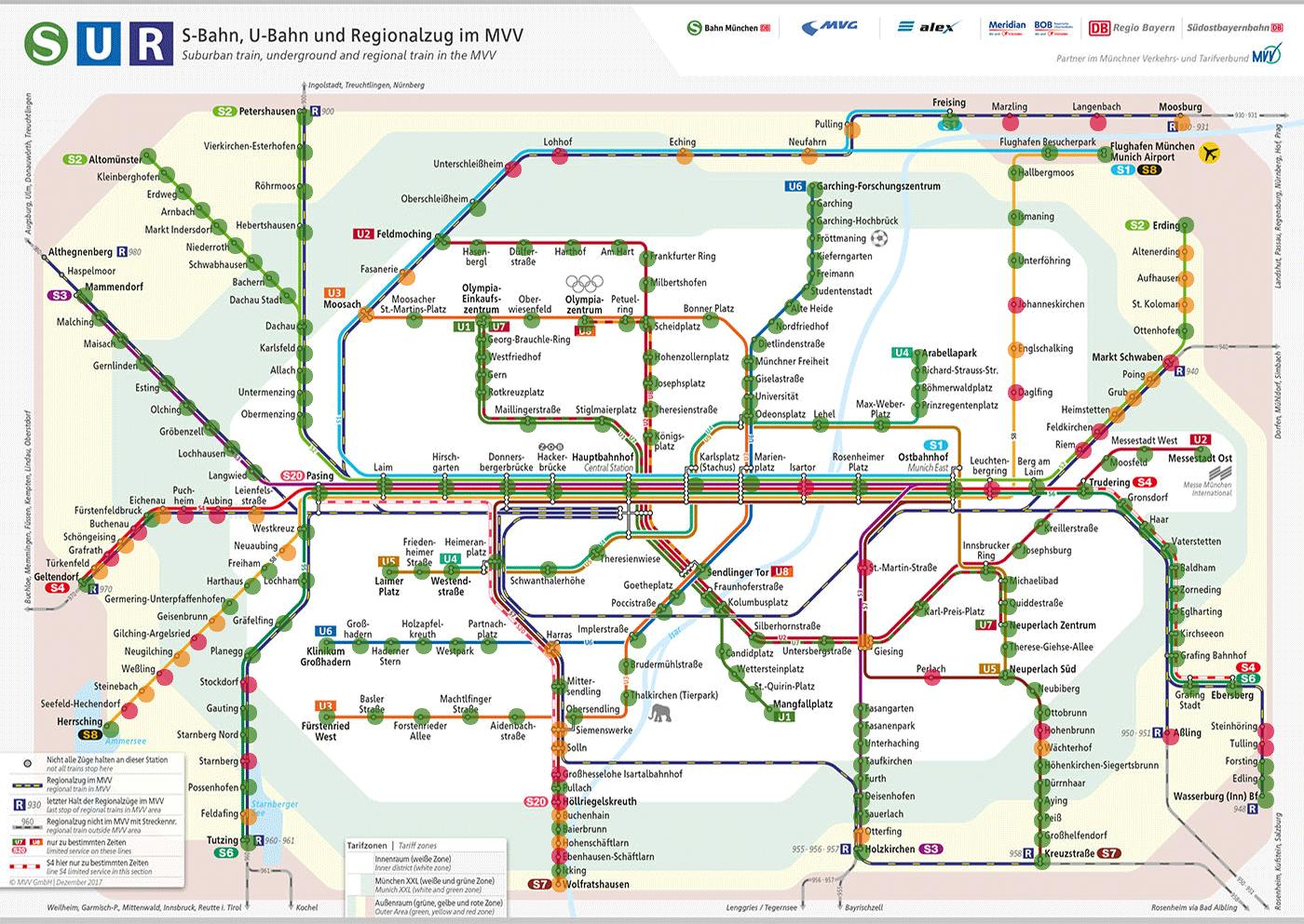 Bahnhofsinformationssystem Mvv