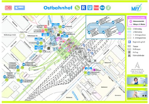 Bahnhof Ostbahnhof Munchen Mvv