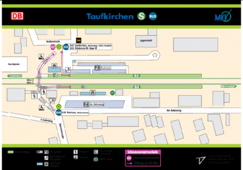 Bahnhof Taufkirchen Mvv